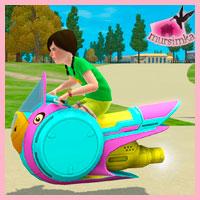 Мотоцикл на воздушной подушке