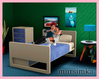 Секс кровать для симов