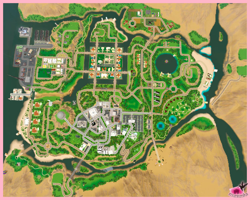 Create-a-World: создаем городок
